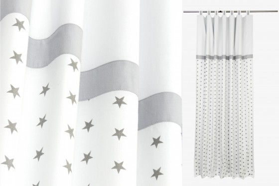 Grey Nursery Curtains