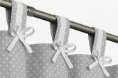 Grey Nursery Blackout Curtains