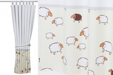 Sheep Blackout Curtains