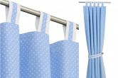 Baby Blue Curtains