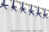 Grey & White Nursery Blackout Curtains