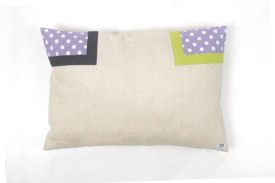 Lavender and Lime Pillowcase