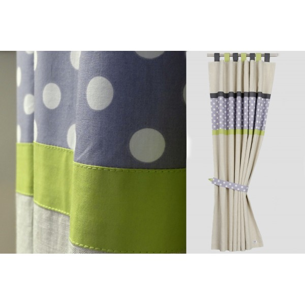 Sailcloth curtains