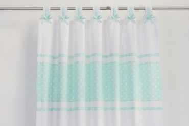 Mind Green Nursery Blackout Curtains
