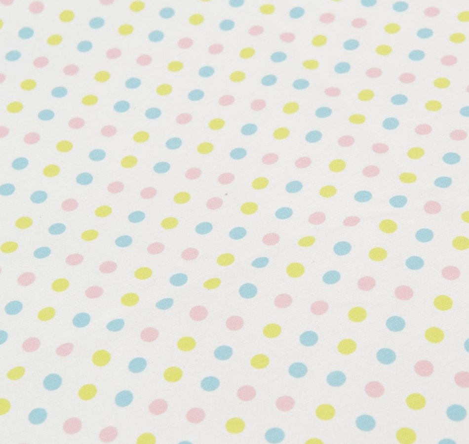 Candy Polka Dot, no top stripes