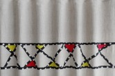 Diagonal Stripes Girls Curtains