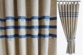 Sea Theme Kids Linen Curtains